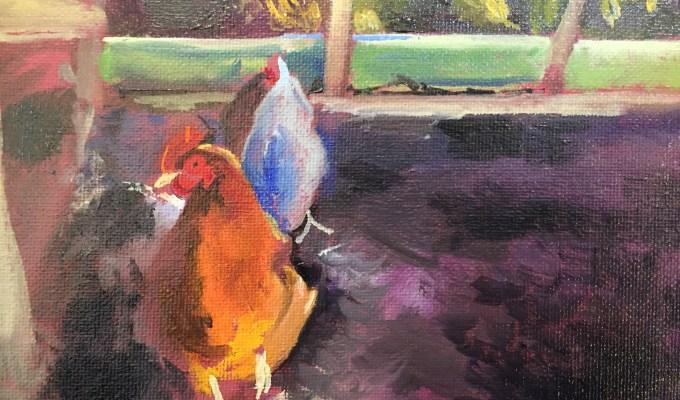 Spring Hens