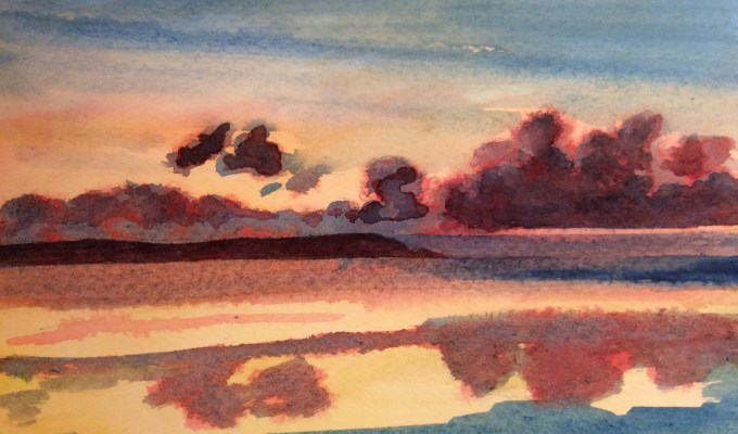 Darkening Sky, Daymer Bay