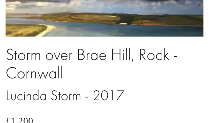 Storm over Brae Hill, Rock