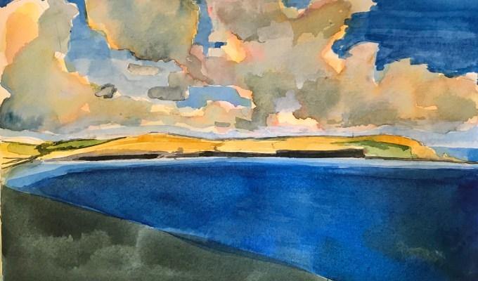 Deep Blue Camel Estuary, Cornwall