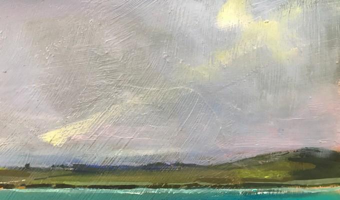 Wispy Clouds, Camel Estuary
