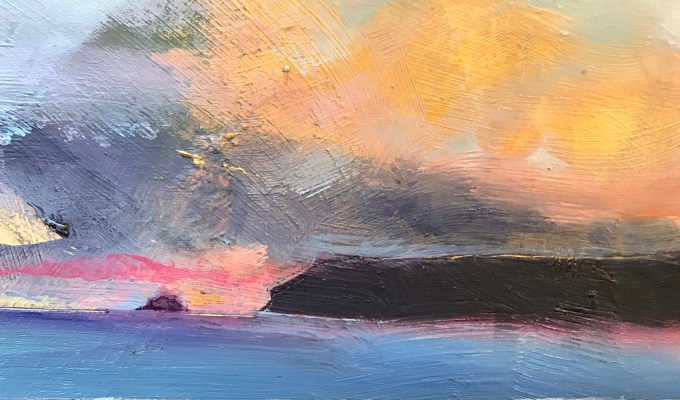 Polzeath Pink, detail