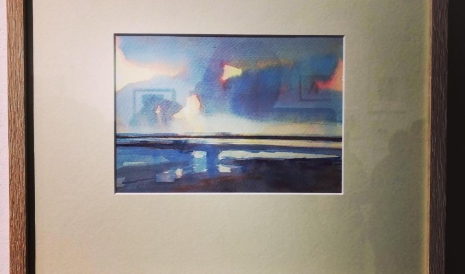RWS, Contemporary Watercolour Competition, Bankside Gallery, open until March 17th 2020.