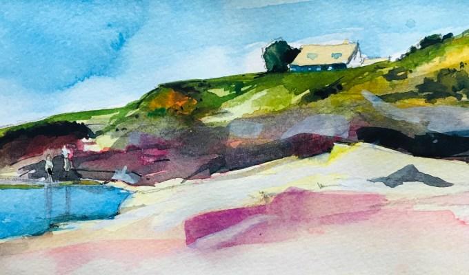 Rock Pool Above Gully, Polzeath, Cornwall