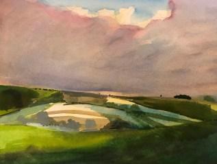 Bright Field, Deverills, Wiltshire
