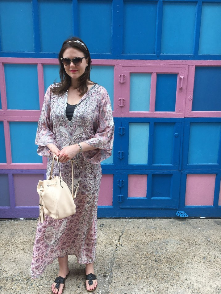 have caftan, receive compliments