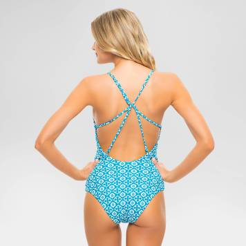 teal one-piece 2
