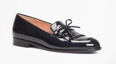 Brooks Brothers patent loafer