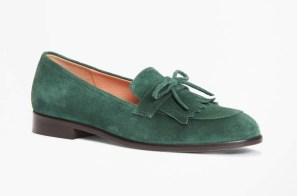 Brooks Brothers suede loafer