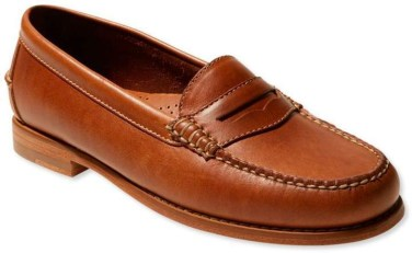 LL Bean penny loafer