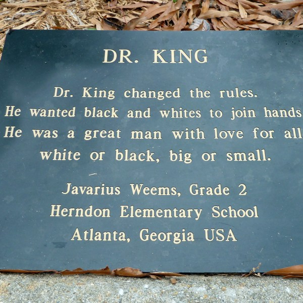 Martin Luther King, Jr. National Historic Site - Atlanta - In Another Minute (Week 82)
