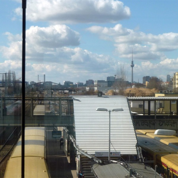 Views from the Berlin Ringbahn (Circular Railway)