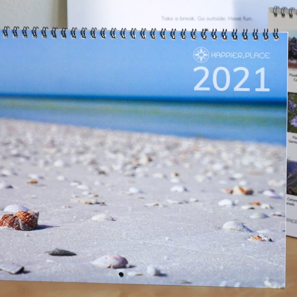 2021 Wall Calendar Featuring My Photography