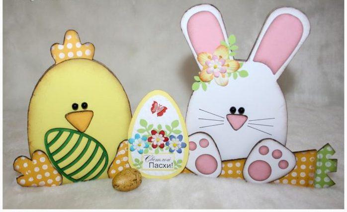 открытки с пасхальным кроликом своими руками при скромном