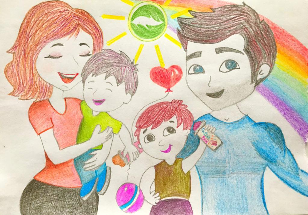 Картинки или рисунки я и моя семья