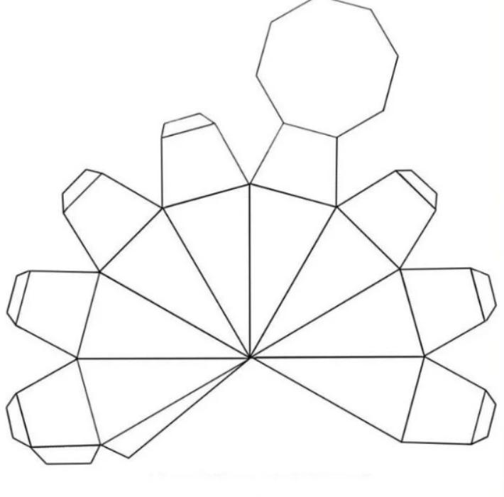 Объемные фигуры из бумаги своими руками схемы шаблоны, открытках