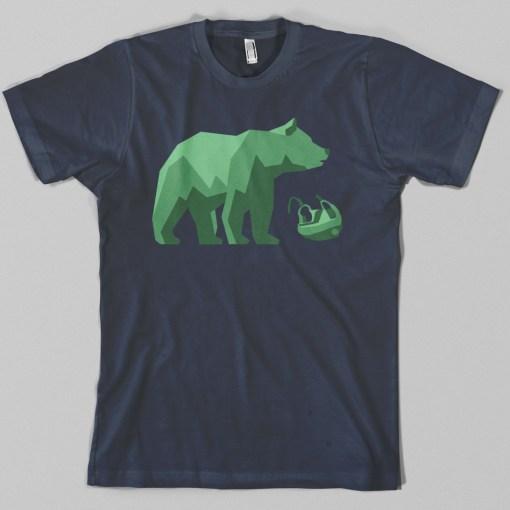 West Coast Bear Hockey T-shirt
