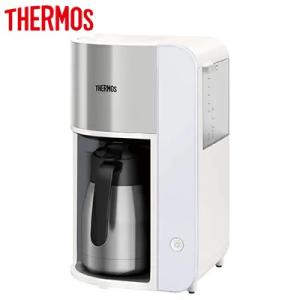 サーモス 真空断熱ポットコーヒーメーカー 1L ホワイト ECK-1000 WH