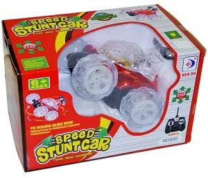 回転LEDラジコンカー