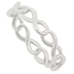 ティファニー Tiffany&co インフィニティ 指輪 リング