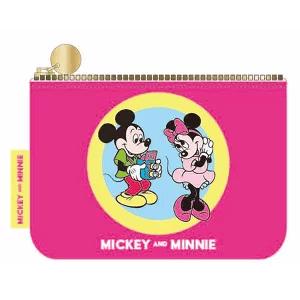 Disney(ディズニー) ミッキー&ミニー ティッシュポーチ