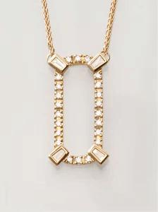 BELLESIOR (ベルシオラ) K18YGダイヤモンドネックレス