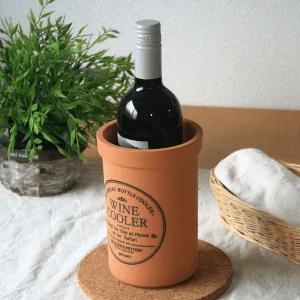 【美濃焼】ワインクーラー テラコッタ
