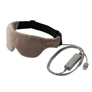 エレコム エクリアwarm USBホットアイマスク グレージュ