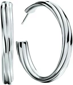 TIFFANY&Co. ティファニー ピアスメロディフープ ピアス ラージパロマ スターリングシルバーエレガントバンドデザイン