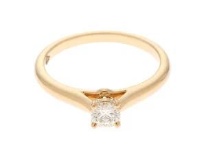 Cartier カルティエ 1895ソリテールリング リング イエローゴールド ダイヤモンド0.18ct 2.1g