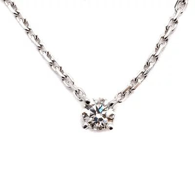 カルティエ(Cartier)ネックレス ラブサポート K18WG ダイヤモンド ホワイトゴールド 750WG 18金