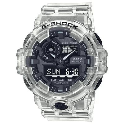 カシオ G-SHOCK Gショック Skeleton Series GA-700SKE-7AJF