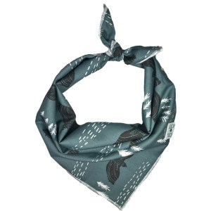 outdoor nature eagle print dog bandana