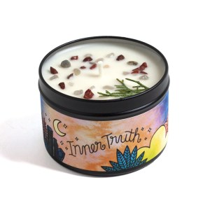 Inner Truth Magic Aromatherapy Candle – Earthy & Spice