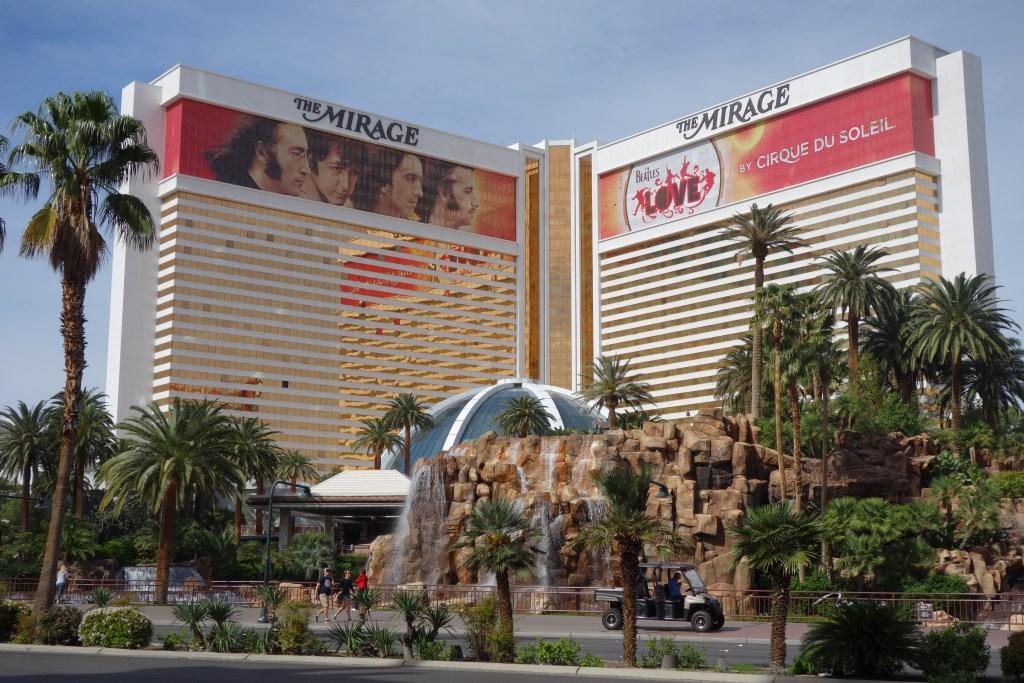 Mirage hotel in Las Vegas