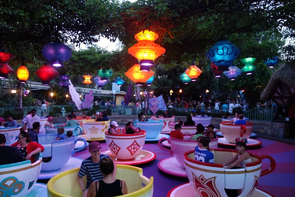 Disneyland Tea Cups