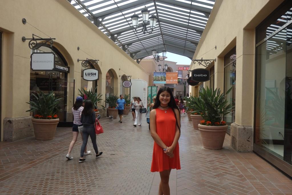 Fashion Island shopping Newport Beach