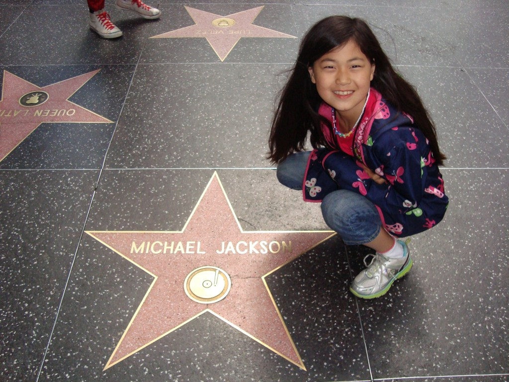 Baby Bug and Michael Jackson star on Hollywood Walk of Fame