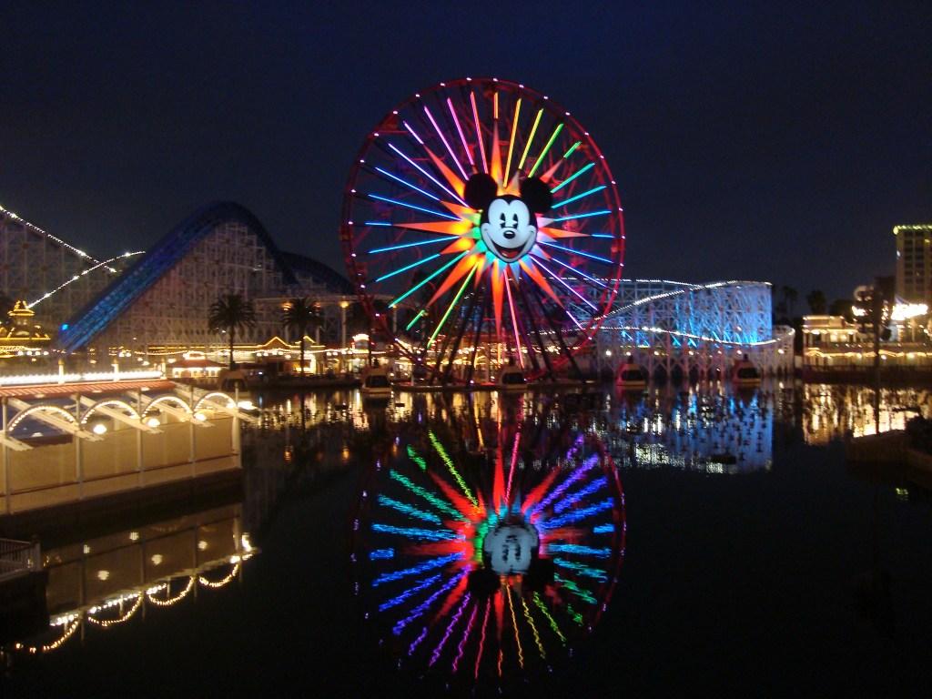 Disneyland Paradise Pier Anaheim Orange County California