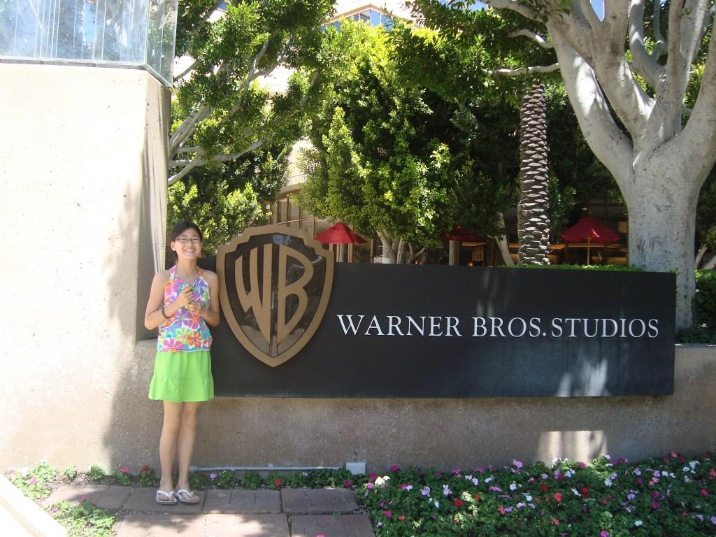 Warner Bros, studio tour Burbank, California