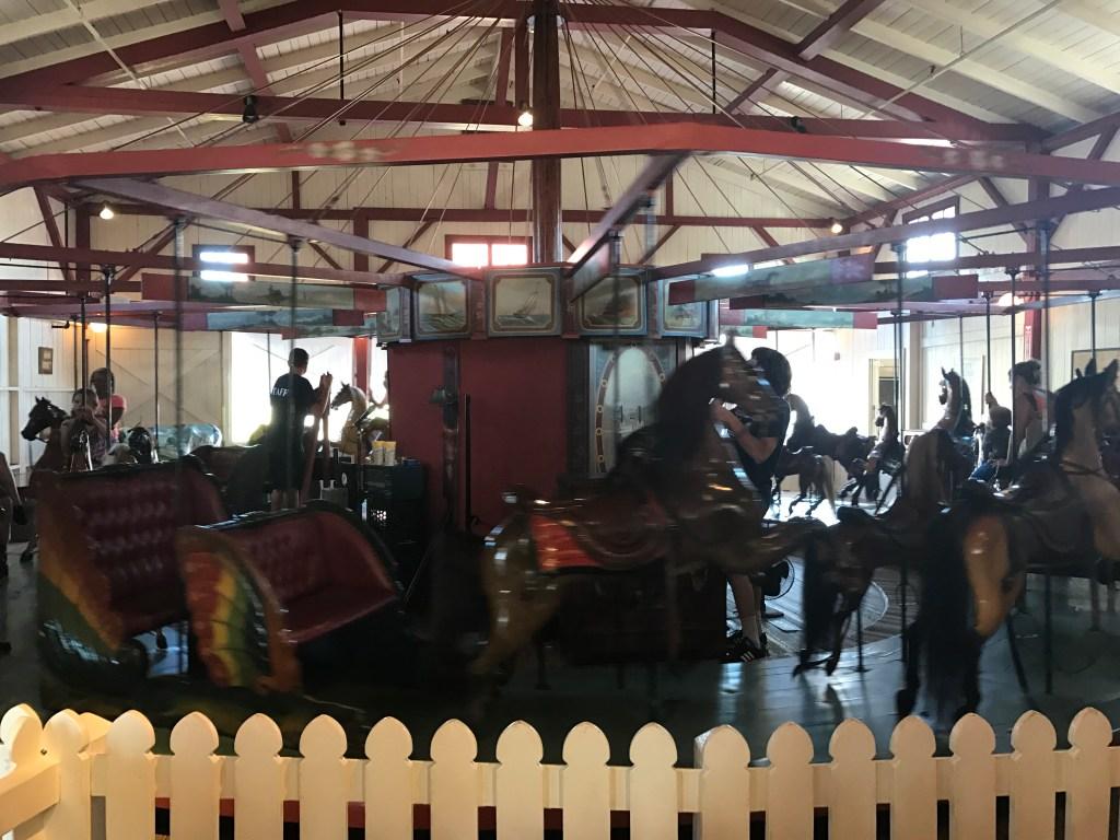Flying Horses carousel Oak Bluffs Martha's Vineyard