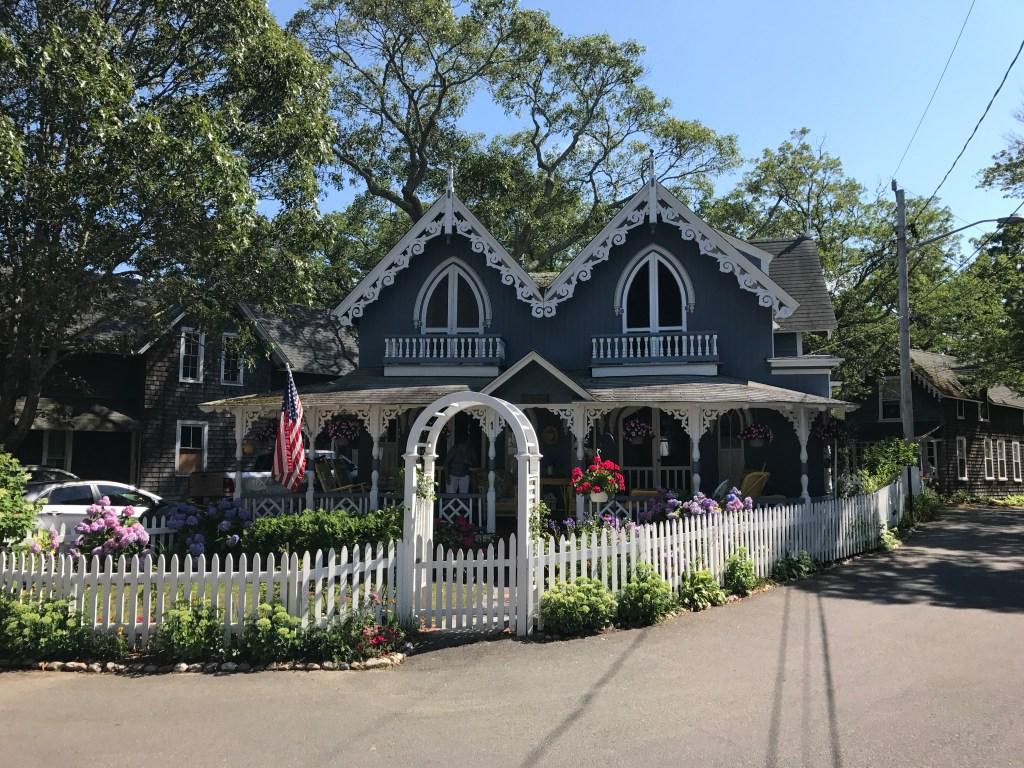 Oak Bluffs Gingerbread Cottage Martha's Vineyard
