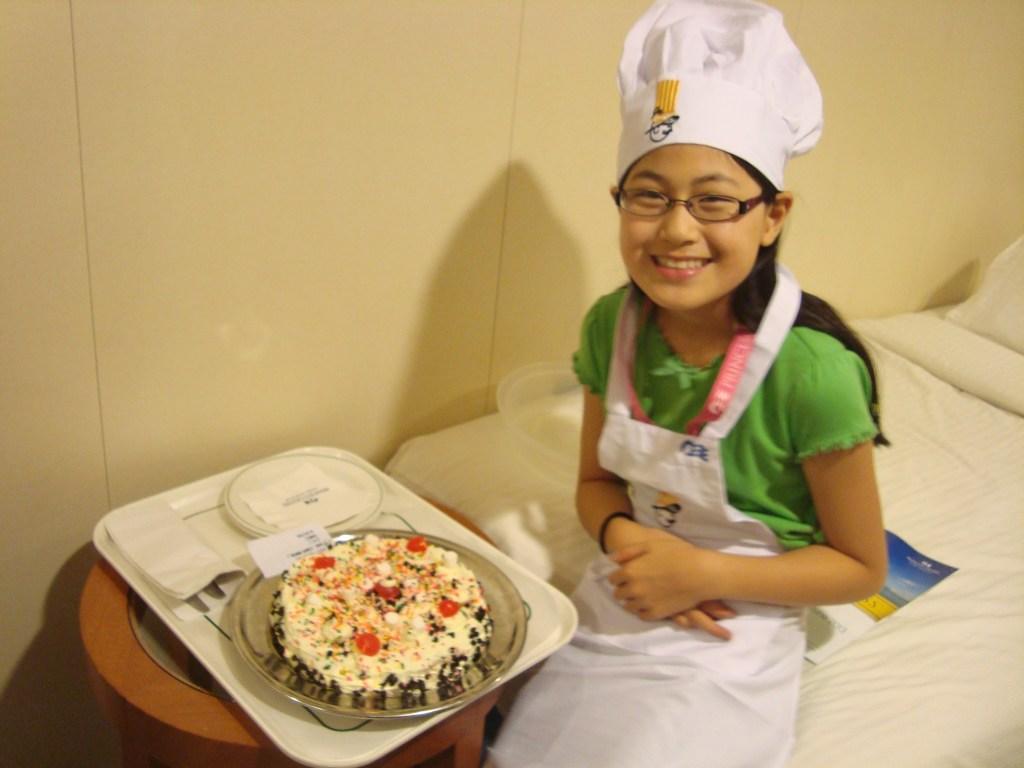 Baby Bug Princess Cruises Chef/ Cake Decorating