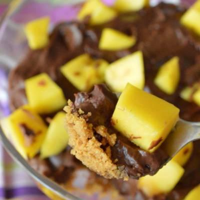 crema de ciocolata cu mango