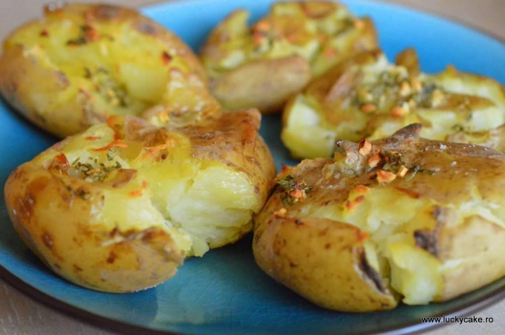 Cartofi zdrobiti