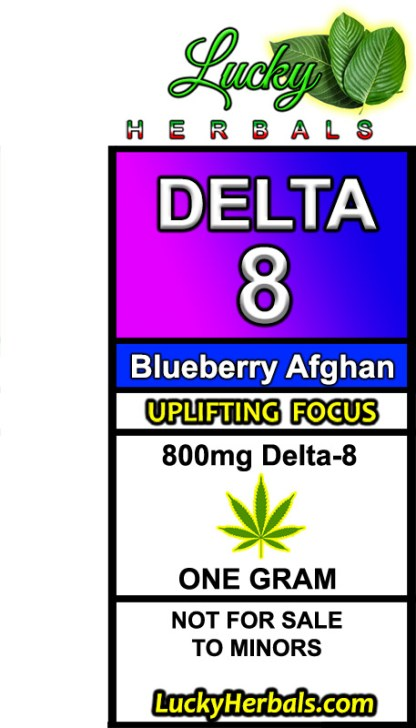 DELTA-8 BLUEBERRY AFGHAN