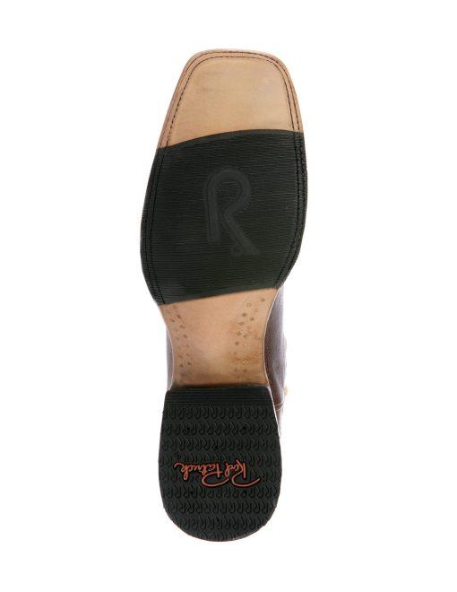 Rod Patrick Full Quill Dark Brown Cowboy Classic Square Toe Boot RPM119
