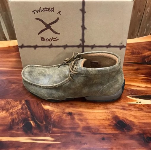 Men's Twisted X Lace Up Driving Mocs MDM0003