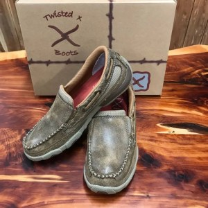 Women's Twisted X Bomber Slip on Driving Moc WDMS005
