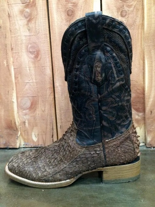 Men's Corral Gnarly Fish Skin Boot A3086